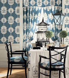images for chinoiserie dining room - Google Search