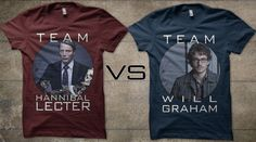I'm really on both teams, but when pressed, yeah, Team Hannibal. TEAM HANNIBAL.