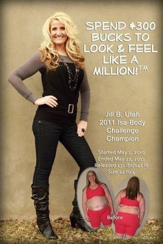 Jill tried Isagenix after 20 programs failed... Your turn - contact me to get your after!!