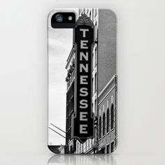 Tennessee Theater - Knoxville -- iPhone & iPod Case by Keith Dotson - $35.00  Great gift idea for University of Tennessee Knoxville alumni / or current students