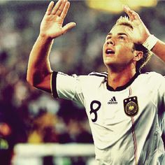 Mario Götze <3 youngest player on the German National Team ❤⚽