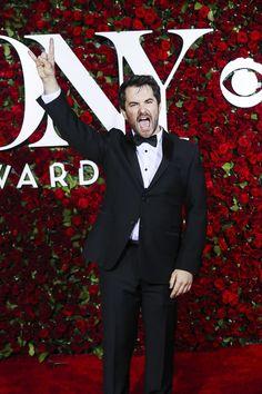 School of Rock Best Actor Nominee Alex Brightman at the 2016 Tony Awards Red Carpet | Broadway.com