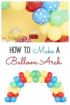 Are you wondering how to make a balloon arch? All you need is the right kit, instructions and you'll be set. Once you make one, you can do it again and again. Balloon arches look fantastic above the party table or as a backdrop for pictures.