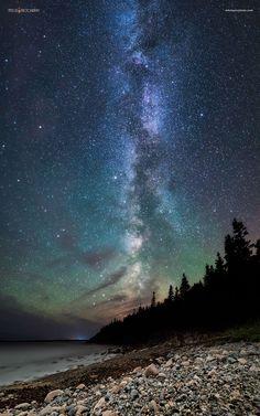 Night at Hunters Head  Acadia Natl Park [1536960] [OC] #reddit