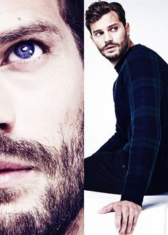 Jamie Dornan. I can't even believe Graham from Once Upon A Time is Mr. Grey.