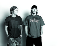 "Bruce and Andy Irons. Surfer magazine studio photo shoot for ""guest editor"" issue. San Juan Capistrano, California. Circa 2001 @bruceirons_ ..."