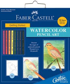 Watercolor Pencil Creative Studio Getting Started Art Kit 800094 - Kits & Sets $14.24