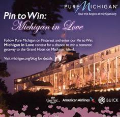 Pin to win: Michigan in love ! #puremichigan #buick #mackinac #beauty #love #truelove