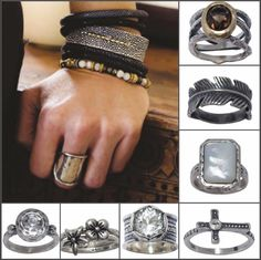 These new Rings ROCK!  by Grace&Heart.  Real Jewelry, for Real Women, with Real Opportunity.