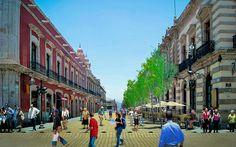 El principal objetivo de la peatonalización, es potenciar la vocación turística, cultural y de servicios de la ciudad, ya que cuenta con un Centro Histórico único en el mundo
