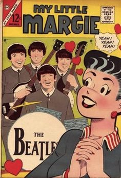 Celebrate 50 years of Beatlemania in these 14 Silver-Age comic-book covers