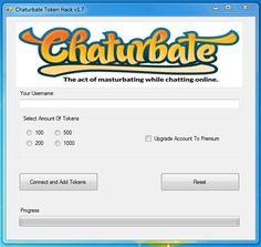free chaturbate token generator 2018 no survey