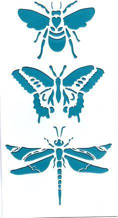 sjablonen diy canvas cut-out Stencils, Stencil Art, Bee Stencil, Stencil Patterns, Stencil Designs, Paper Art, Paper Crafts, Wood Burning Patterns, Scroll Saw Patterns