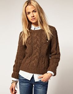 comfortable casual.  I think I could use more deep rich brown in my wardrobe.  pretty.