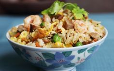Ching's Yangzhou fried rice in 5 mins by Ching-He Huang | Rice Professional recipe | Foodnetwork.co.uk