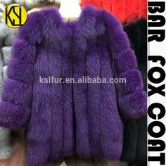 Factory wholesale high quality fox fur coat women's bar fox fur and leather fashion garment