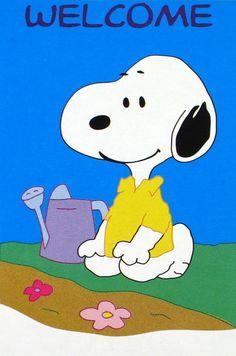 Gardening Snoopy