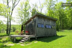 I want to stay here. Probably forever. (The William Brown Cabin in Hankins, NY.)