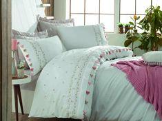 Exclusive Lenjerie de Pat Bumbac Satin Double - Royal Comforters, Satin, Blanket, Bed, Home, Creature Comforts, Quilts, Stream Bed, Elastic Satin