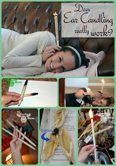 Does ear candling really work? Check out this experiment! thecrunchymoose.com