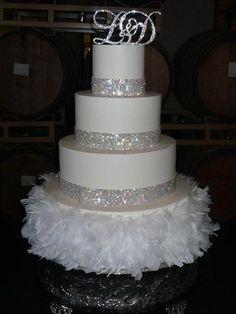 BLING WEDDING CAKE IMAGES | Jen's Cakes | San Francisco Wedding cakes