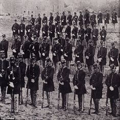 The cemetery not only housed the graves of confederate Soldiers (pictured here) but also of Union soldiers