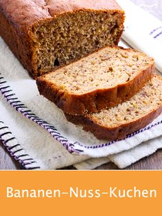 This recipe for a juicy banana nut cake is very easy to use . - This recipe for a juicy banana nut cake is very easy to prepare and is suitable for recycling overr - Lemon Desserts, Healthy Dessert Recipes, Baby Food Recipes, Baking Recipes, Dog Food Recipes, Cake Recipes, Food Cakes, Nutella, Banana Nut Cake