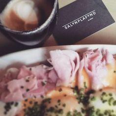 nice breakfast #salonplafond #mak #timmälzer #wien #breakfast #cappuccino #sunday #loveit Maker, Vienna