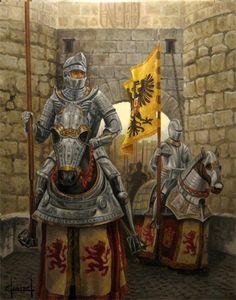 Карлос I и его телохранитель.