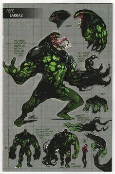 Absolute Carnage Cover E Variant Pepe Larraz Young Guns Cover Venom Comics, Marvel Venom, Marvel Comics Art, Marvel Heroes, Ms Marvel, Marvel Avengers, Venom Character, Character Art, Comic Kunst