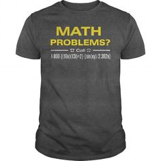 Awesome Tee Math Problems T shirt