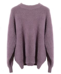 Thanksgiving Solid Round Neck Sweater