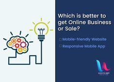 Which one is better to get Online Business or Sales? Comment down below👇👇! Mobile Friendly Website, Companies In Usa, Online Marketing Services, Mobile App Development Companies, Design Development, Vocabulary, Online Business, Vocabulary Words