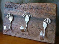 Креативные поделки и украшения для дома из металлической посуды