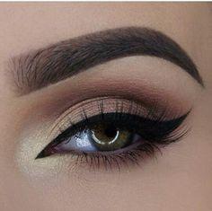 Eyeliner on point.