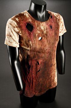 Billy Loomis' (Skeet Ulrich) Bloody Shirt from Wes Craven's original slasher, Scream