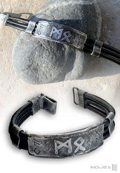 Bransoleta runiczna / Runic Bracelet. Moje MW