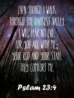 Salmos 23:4 ❤