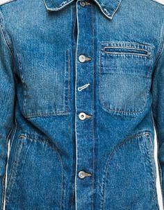 14.5oz Japanese denim workwear jacket by Rogue Territory
