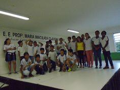 Sala de Leitura da Escola Estadual Maria Imaculada