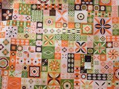 Jenean Morrison PWJM054 Power Pop Clique Strawberry Fabric By Yd #FreeSpirit