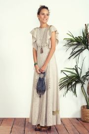 vestido boho longo gypset