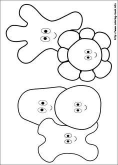 The 11 best Bing Colouring Sheets images on Pinterest