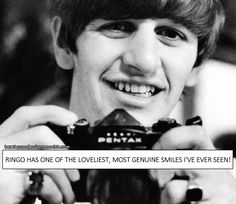 Ringo has one of the loveliest, most genuine smiles I've ever seen!