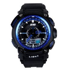 SKMEI Men Sports Watches Fashion Casual Quartz Watch LED Military Army Waterproof Multifunctional Man Wristwatch Montre Homme