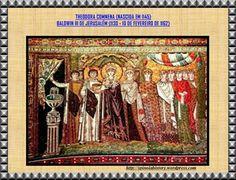 THEODORA CONMENA CASADA COM BALDWIN III DE JERUSALÉM