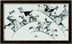 Untitled Framed Art Print by Wassily Kandinsky at Art.co.uk