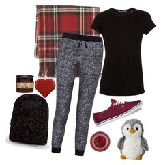 """""""Untitled #703"""" by zoey-likes-muffins ❤ liked on Polyvore featuring Williams-Sonoma, Vince, Splendid, Vans, Lipstick Queen and Anya Hindmarch"""