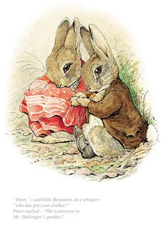 This is a free vintage easter illustration of benjamin bunny from the 1904 Beatrix Potter classic images beatrix potter Free Vintage Easter Illustration of Beatrix Potter's Benjamin Bunny Easter Illustration, Rabbit Illustration, Funny Illustration, Bunny Drawing, Bunny Art, Beatrix Potter Illustrations, Beatrice Potter, Peter Rabbit And Friends, Benjamin Bunny