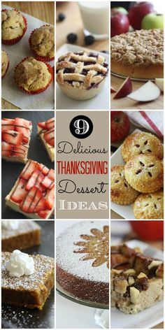 Last-minute delicious Thanksgiving dessert ideas that are easy to make and sure to please your guests! | CatchMyParty.com